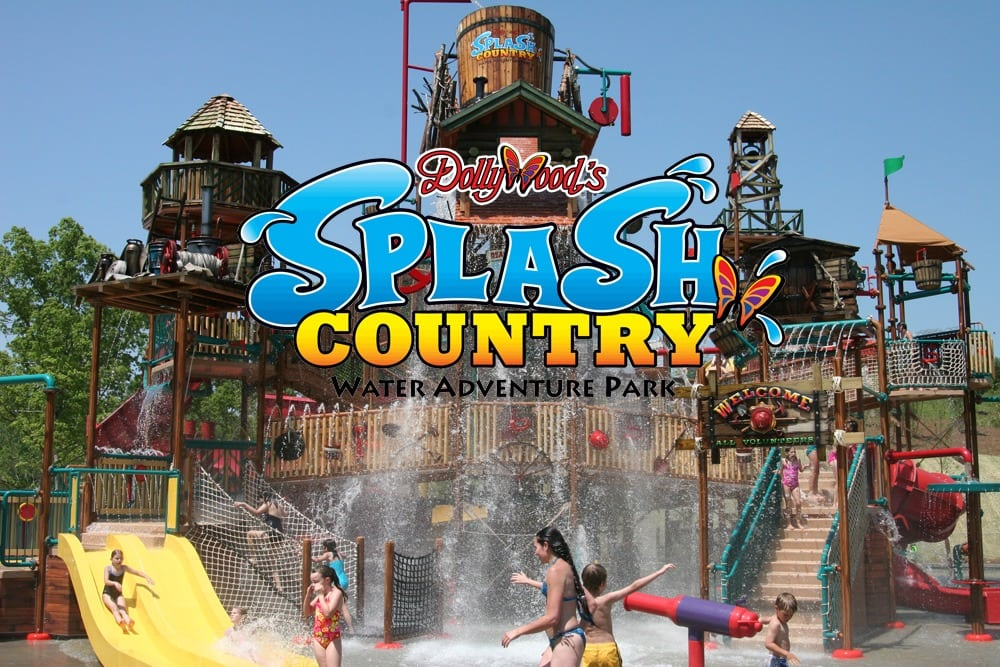 Splash Country Hours Rides Map Etc Dollywood Splash
