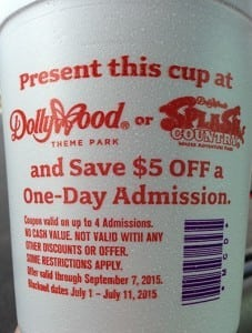splash country coupon mcdonalds cup