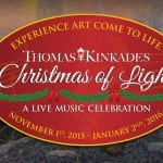 Thomas Kinkade Christmas Of Light