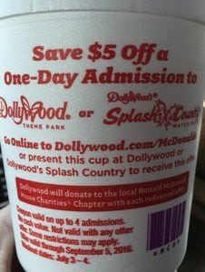Dollywood discount tickets coupons