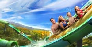 river rush water coaster splash country