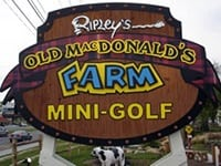 ripleys old mcdonald mini golf