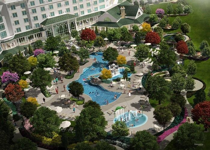 dollywood hotel pool