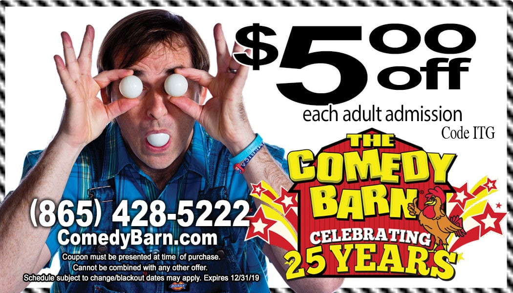 comedy barn coupon