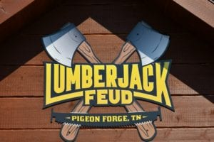 lumberjack feud sign