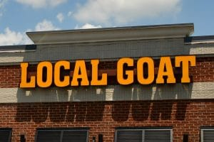 the local goat pigeon forge