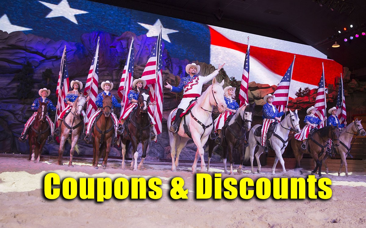 dolly partons stampede coupons and discount tickets