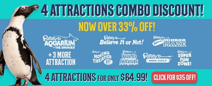 gatlinburg aquarium discount combo